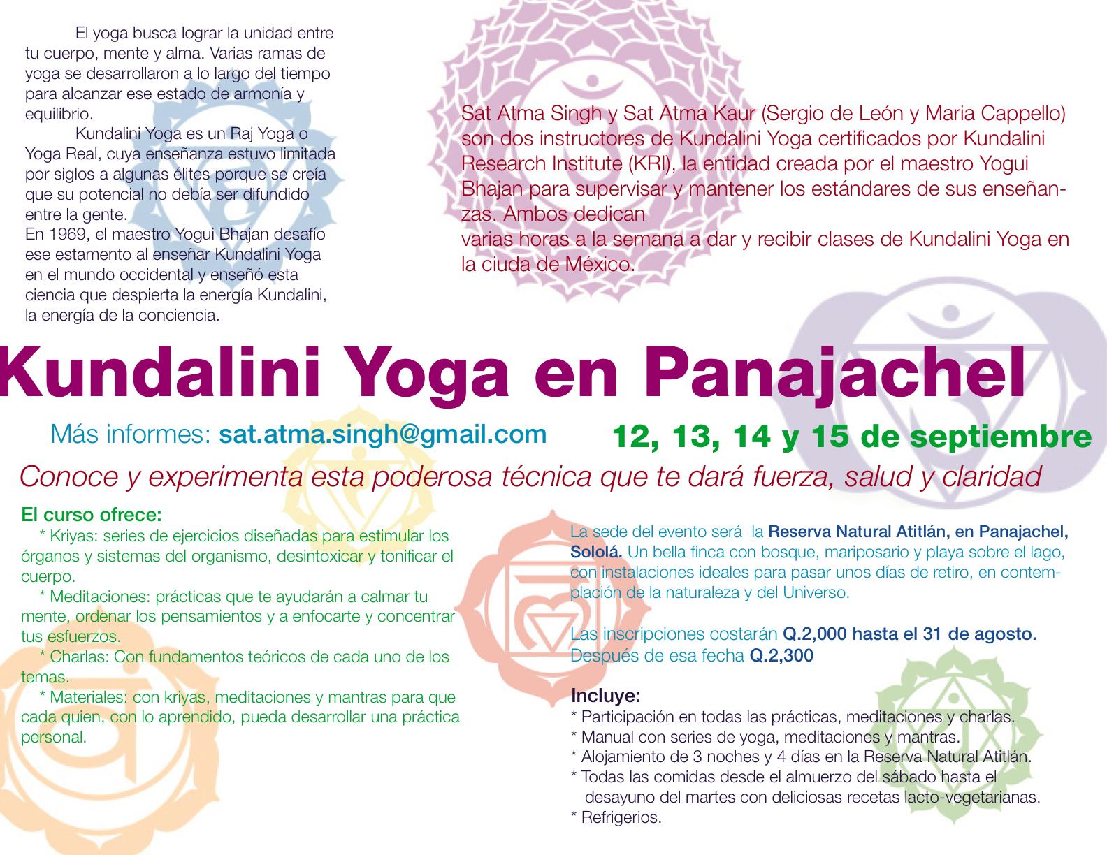 Newest Kundalini Yoga Poster | Davagy de León